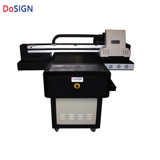 Dosign Digital Flatbed 60*90 UV Printer with Factory Price