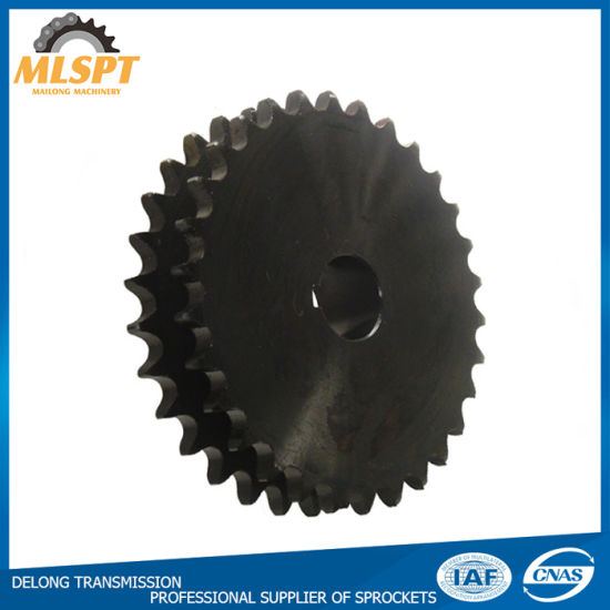 Different Sizes Standard Steel Double Single Sprockets pictures & photos