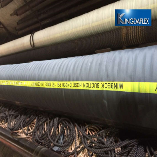 Mud/Sand Water Pump Suction Dredging Rubber Hose
