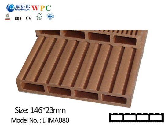 New Design Anti-Slip Outdoor WPC Flooring