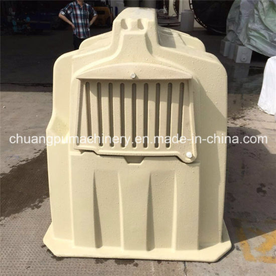 China Long Service Life Plastic Calf Hutch with Fence - China Calf ...