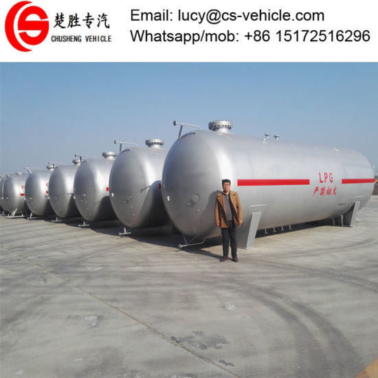China Soncap Certificate Availabe Above Groud 80m3 LPG Bullet Tank ...