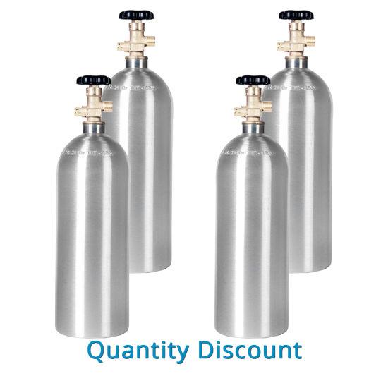 China Factory Aluminum CO2 Tank Refill Beverage - China