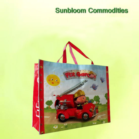 Shopping Bags Custom Recyclable PP Woven Bags Fashion Tote Bags Advertising Promotion Bags