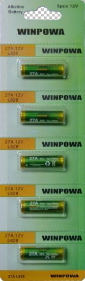 12V 27A Alkaline Dry Battery pictures & photos