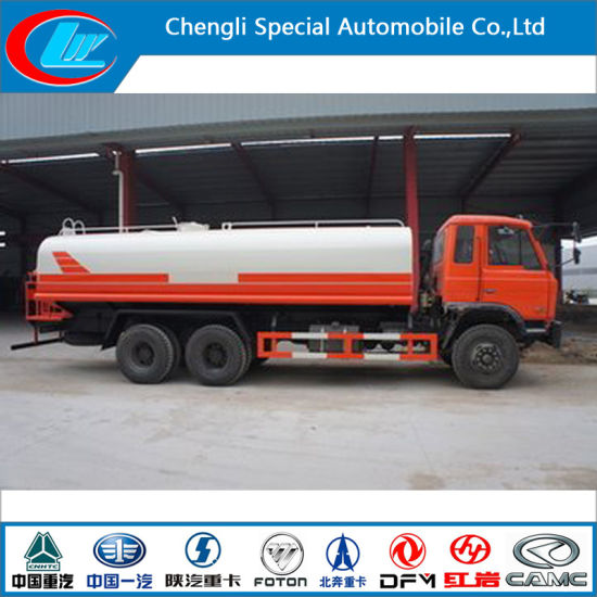 China Dongfeng 6X4 Water Tank Truck Water Spray Truck for Sale