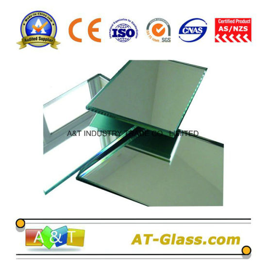 4 5 6mm Silver Mirror/Silver Coated Mirror Used for Bathroom Decorative etc