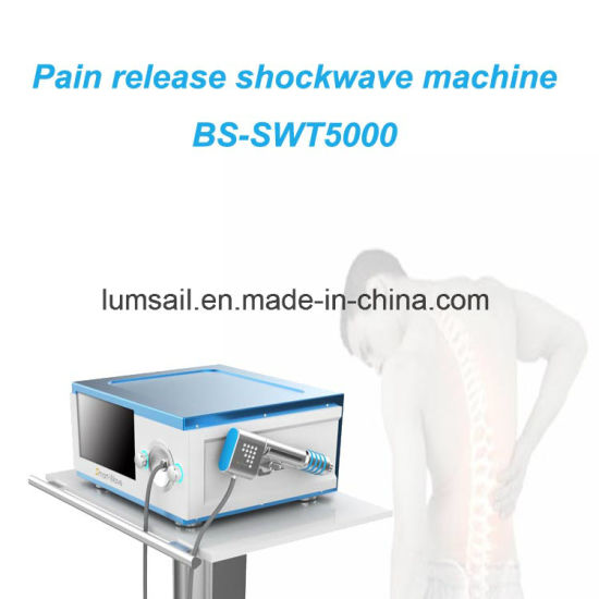 BS-Swt5000 Physiotherapy Equipment Air Compressed Eswt Shock Wave Therapy Equipment pictures & photos