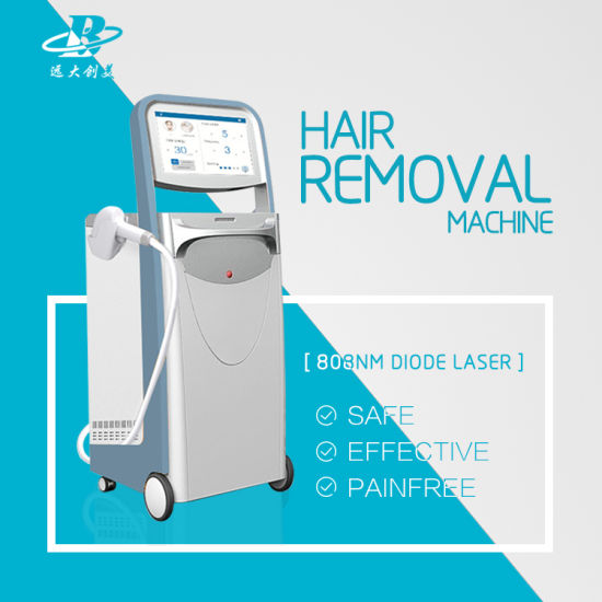 Effective and Painless 808nm Diode Laser Hair Removal Machine Vertical pictures & photos