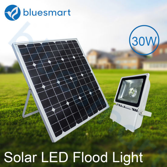 30W Waterproof Light Solar LED Flood Lamp with High Quality pictures & photos