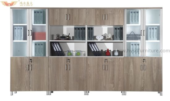 Fsc Certified Modern Wooden Bamboo Office Book Storage Wholesale File  Cabinet (HY H60 0611)
