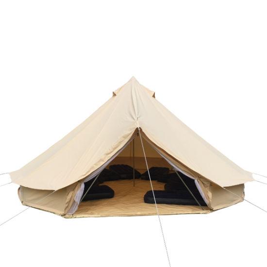 5m Canvas Cotton Sahara Tent UK Desert Tent C&ing Bell Tent  sc 1 st  Beijing Unistrengh International Trade Co. Ltd. & China 5m Canvas Cotton Sahara Tent UK Desert Tent Camping Bell ...