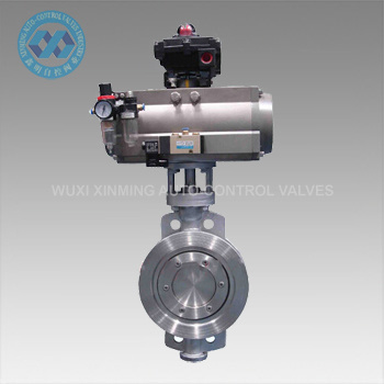 Pneumatic Actuator Wafer Butterfly Valve for Pipelines pictures & photos