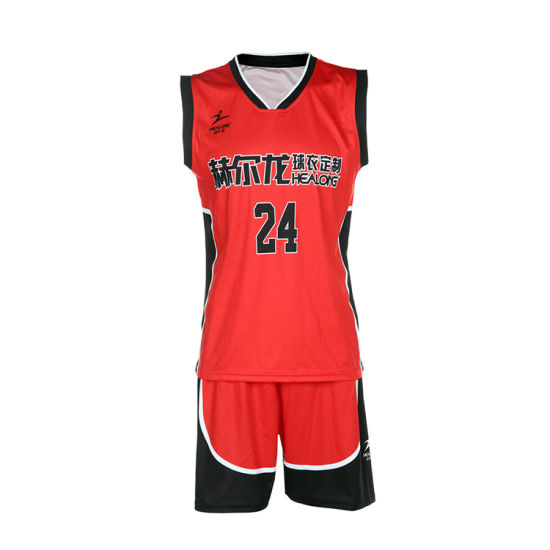e2941db3c2bb Good Price 100%Polyester Custom Basketball Jersey Wholesale Cheap  Basketball Uniforms pictures   photos