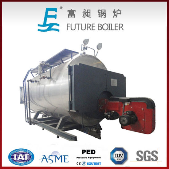 Hot Selling Energy Saving Wns Full Automatic Gas/ Oil Steam Boiler pictures & photos