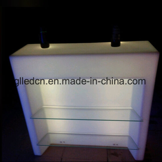 Waterproof Plastic Bar Counter LED Light up Outdoor Furniture for Event Use - China Waterproof Plastic Bar Counter LED Light Up Outdoor Furniture