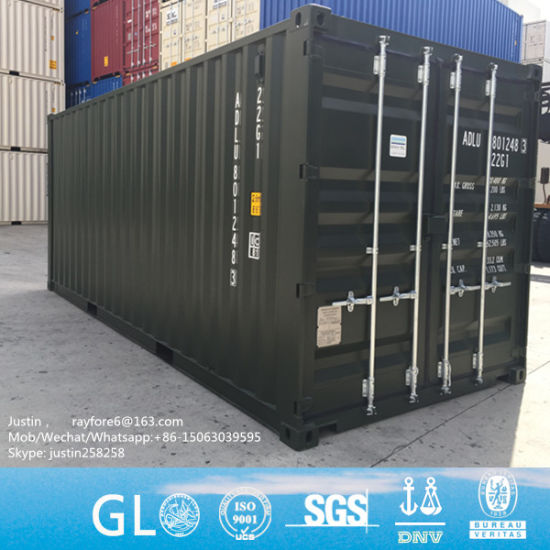 China 20FT 40FT 40hc45 New Container Shipping Container Used