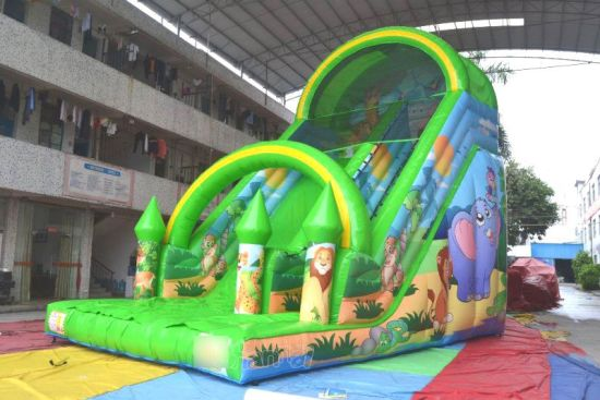 Wild Zoo Inflatable Slide (CHSL637) pictures & photos