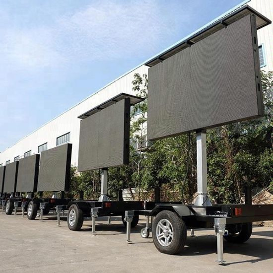 Rgx HD P6/P8 Outdoor Mobile LED Video Truck/Car/Van Advertising Display Moving LED Billboard