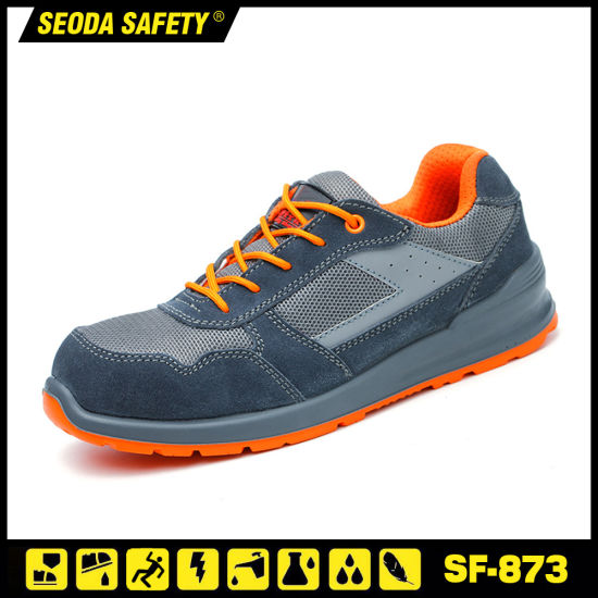 Breathable Light Weight Safety Shoes in Stock