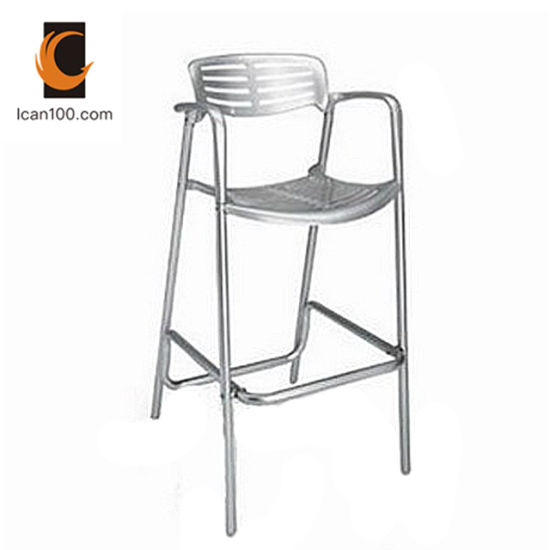 Excellent Anti Aging Outdoor Commercial Home Furniture Aluminum Modern Bar Stool Chair Squirreltailoven Fun Painted Chair Ideas Images Squirreltailovenorg