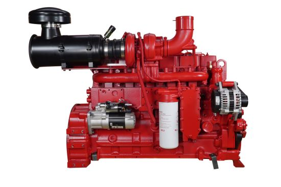220HP Diesel Engine with Electronic Governor 6CTA8.3-P220 for Draining Pump