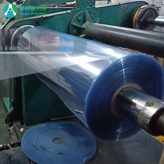 China 100-200 Micron Rigid PVC Clear Plastic Sheet for Book