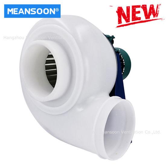 200 1HP Plastic Lab Fume Hood Centrifugal Fan