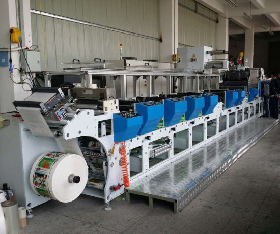 Flexo Printing Machine for Label with Paper, Film