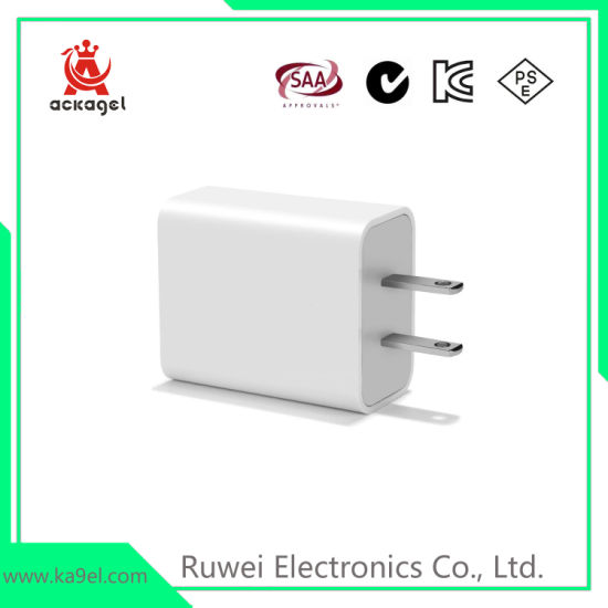 5V/2A Travel USB Charger Mobile Phone Charger UL FCC RoHS