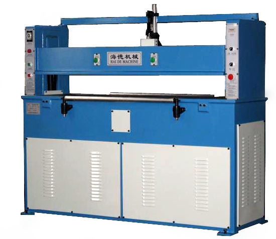 Hydraulic Plane Leather Rubber Slipper Die Cutting Machine