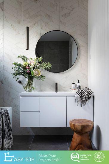Wall Mounted New Design Solid Wood Bathroom Vanity