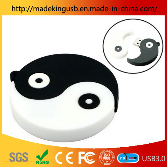 2019 Cartoon PVC Tai Chi Gossip USB Pen Drive