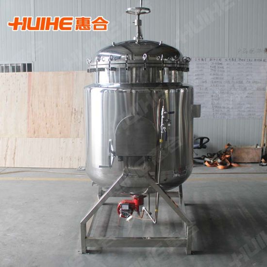 Stainless Steel High Pressure Cooking Pot (1000L) pictures & photos
