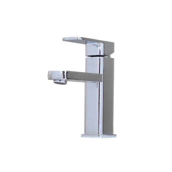 Luolin Bathroom Basin Faucet Vanity Mixer Sink Tap Lead Free Brass Lavatory Sink Hand Wash, Chrome 574-2