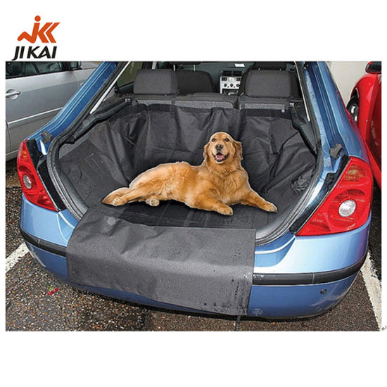 Pet Car Seat Cover Waterproof Black Trunk Large Dog Seat Cover