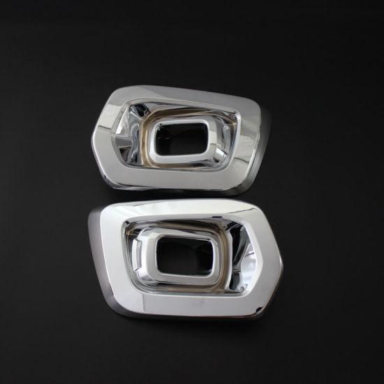 Auto Exterior for Ranger T8 Chrome Fog Light Cover Fog Lamp Trims