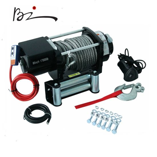 7.7 Ton Electric Winch with Steel Rope Pulling
