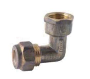 Nylon Olive Compression Dzr Brass Elbow Cxfi