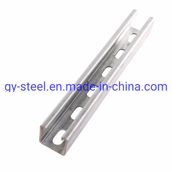"Factory Supplies ""C"" Purlin/Channel Steel Price in Warehouse"