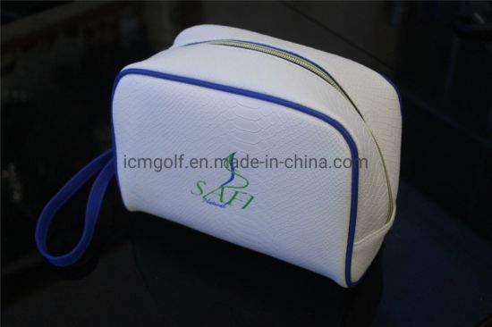 PU Leather Cosmetic Bag Makeup Case for Traveling pictures & photos