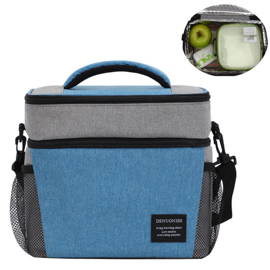 Wholesale Tote Food Wine Beer Picnic Lunch Cooler Insulated Bag with Single Shoulder Strap pictures & photos