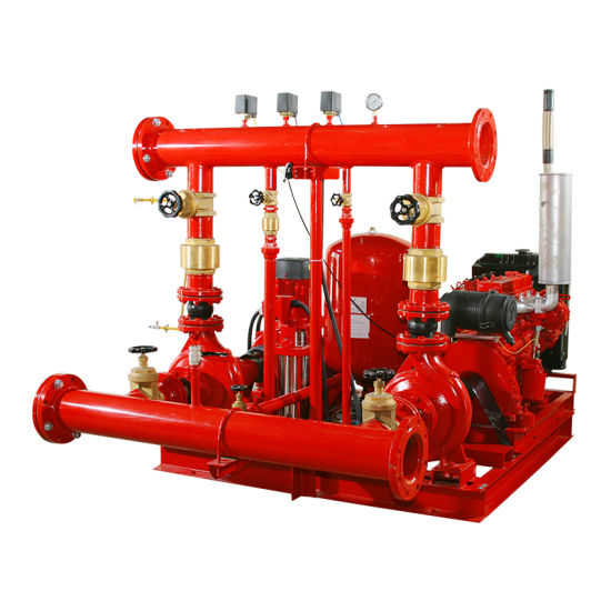 china diesel engine fire pump for water supply system