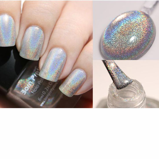 China Acrylic Laser Unicorn Holographic Glitter Chrome