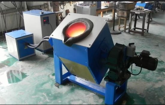 Melting Copper Wire | China Medium Frequency Induction Melting Furnace For Iron Gold