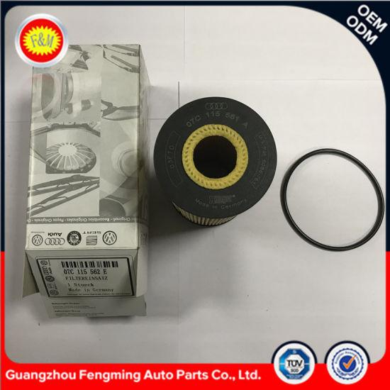 Automobile Eco Oil Filter 07c115562e Wholesale Auto Motor Parts Spare Parts for Engine Manufacturers