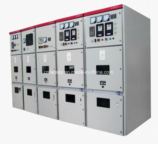 China Medium Voltage Switchgear Gas Insulated Switchboard