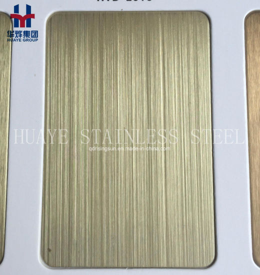 Luxury Colored Stainless Steel Decorative Sheets and Plates pictures & photos