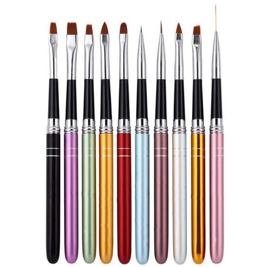 China Hot Selling Brush Kits Nail Art Design Nail Brush China