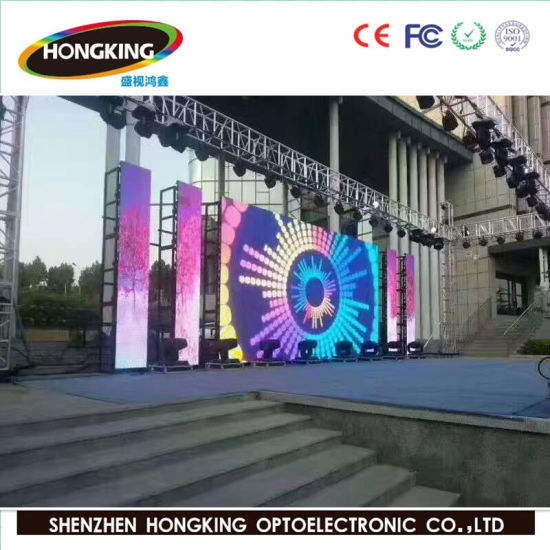 (Ce/FCC/RoHS/EMC) Outdoor P4 Rental LED Display for Stage Events